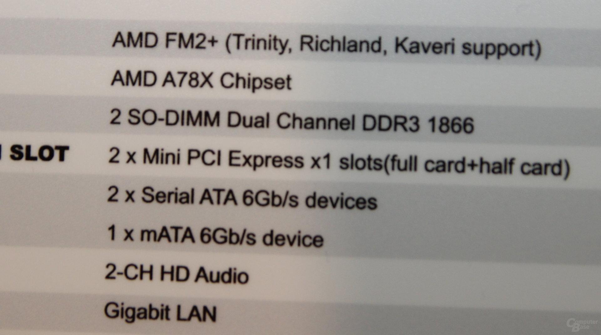 ECS Elitegroup A87F2-TI