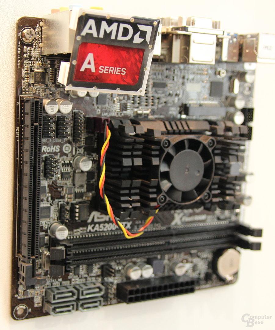 ASRock KA5200-ITX mit AMD A6-5200 (Kabini)