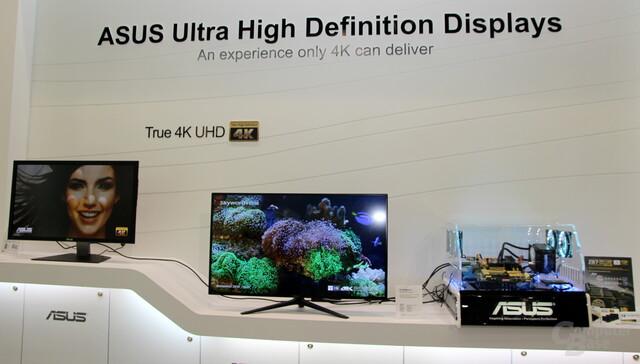 4K-Displays von Asus zur Computex 2013