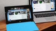 Microsoft Surface Pro im Test: Schweres Tablet, leichtes Notebook