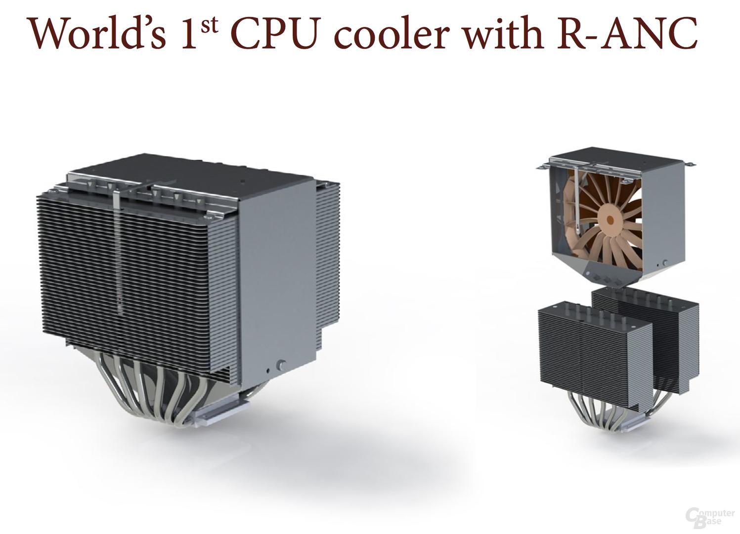Worlds first ANC-CPU-Kühler