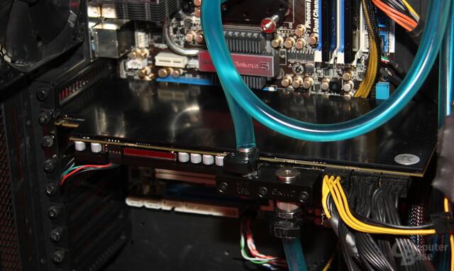 Wassergekühlte Radeon HD 7990 von PowerColor