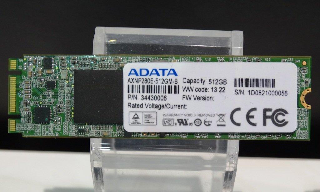 """Adata XNP280E - schnelle NGFF-SSD mit """"Griffin""""-Controller"""