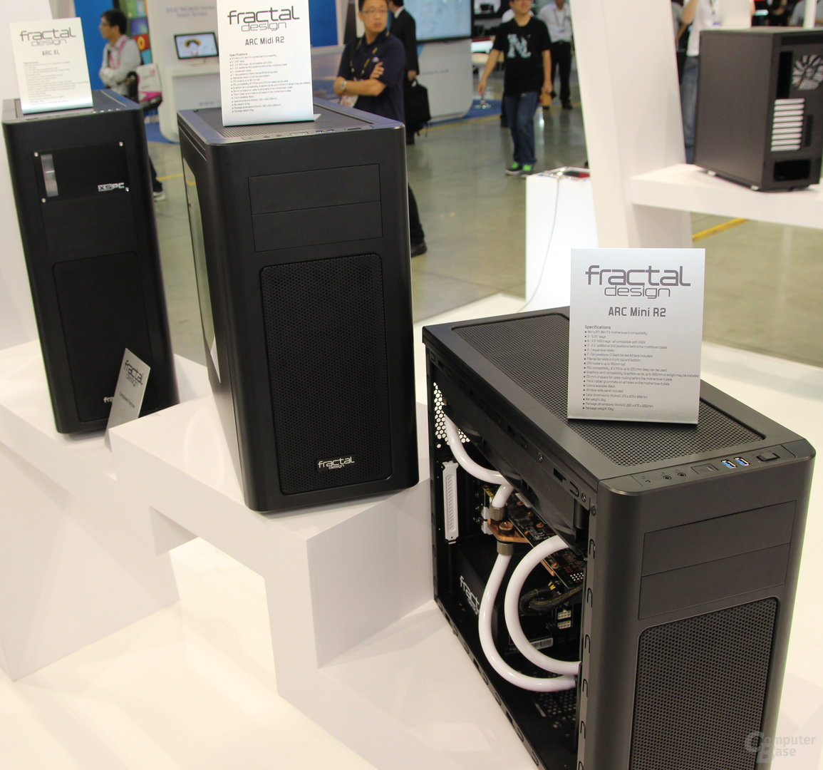 Fractal Designs Arc-Serie in drei Größen