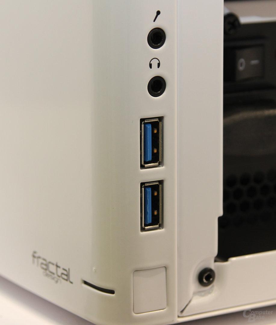 Fractal Design Node 304 in weiß