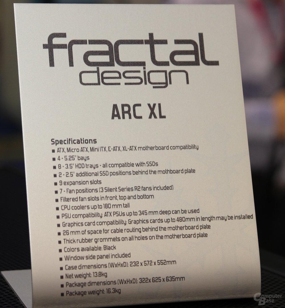 Fractal Design Arc XL