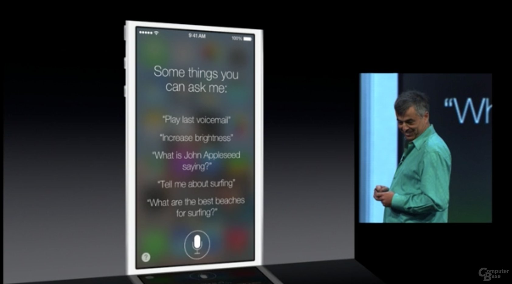 Apple iOS 7 - Siri