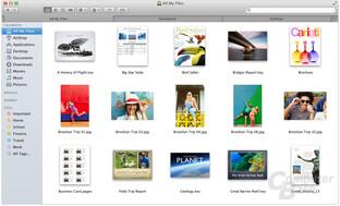 Apple OS X 10.9 – Finder mit Tabs und Tags