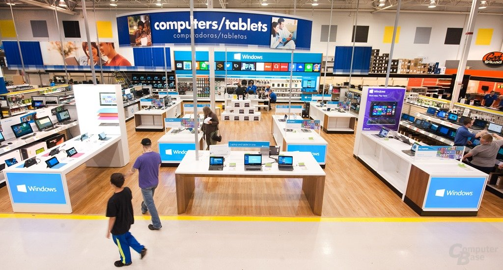 Windows-Store-Konzept bei Best Buy