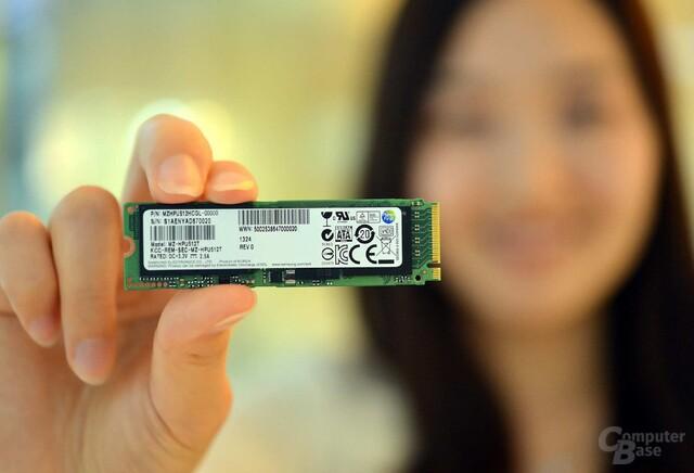 Samsung XP941 PCIe-SSD im M2-Format