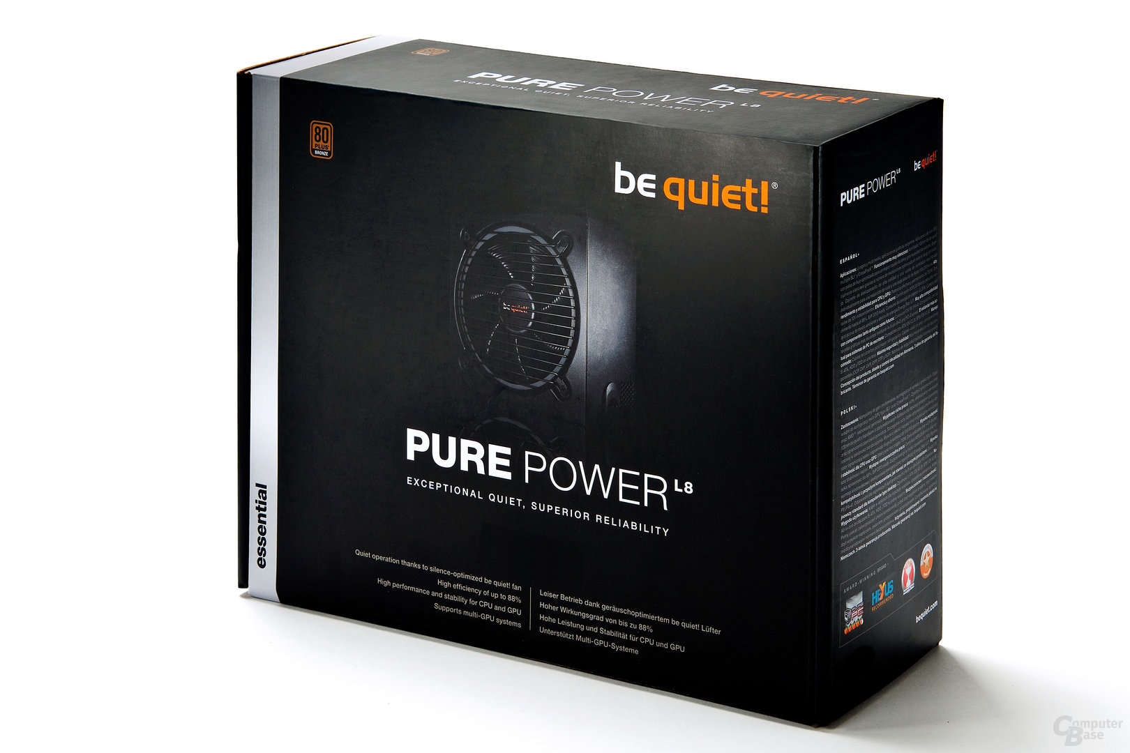 be quiet! Pure Power L8 - Verpackung