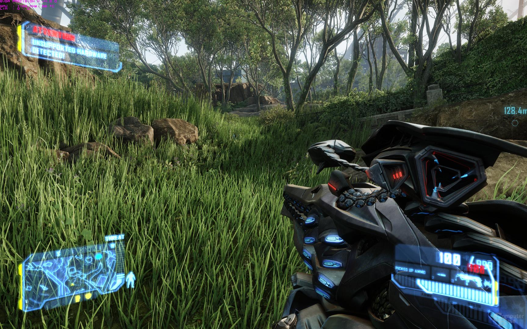 Crysis 3 - Standard Spieleinstellungen