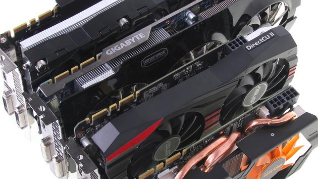 Nvidia GeForce GTX 760 im Test: Asus, Gigabyte, Inno3D und Zotac