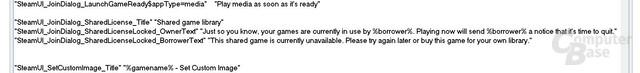 Einträge des Beta-Updates