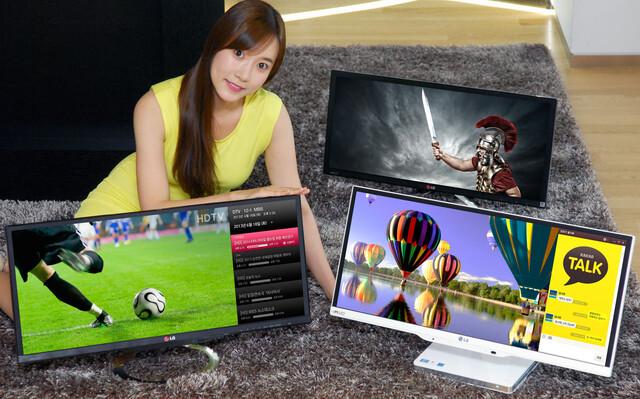 LGs 21:9-Aufgebot mit AiO-PC, TV und Monitor