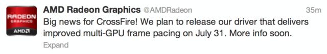 AMD über Twitter