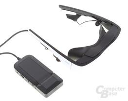 Akku-Steuerbox, HDMI-Adapter und Cinemizer OLED