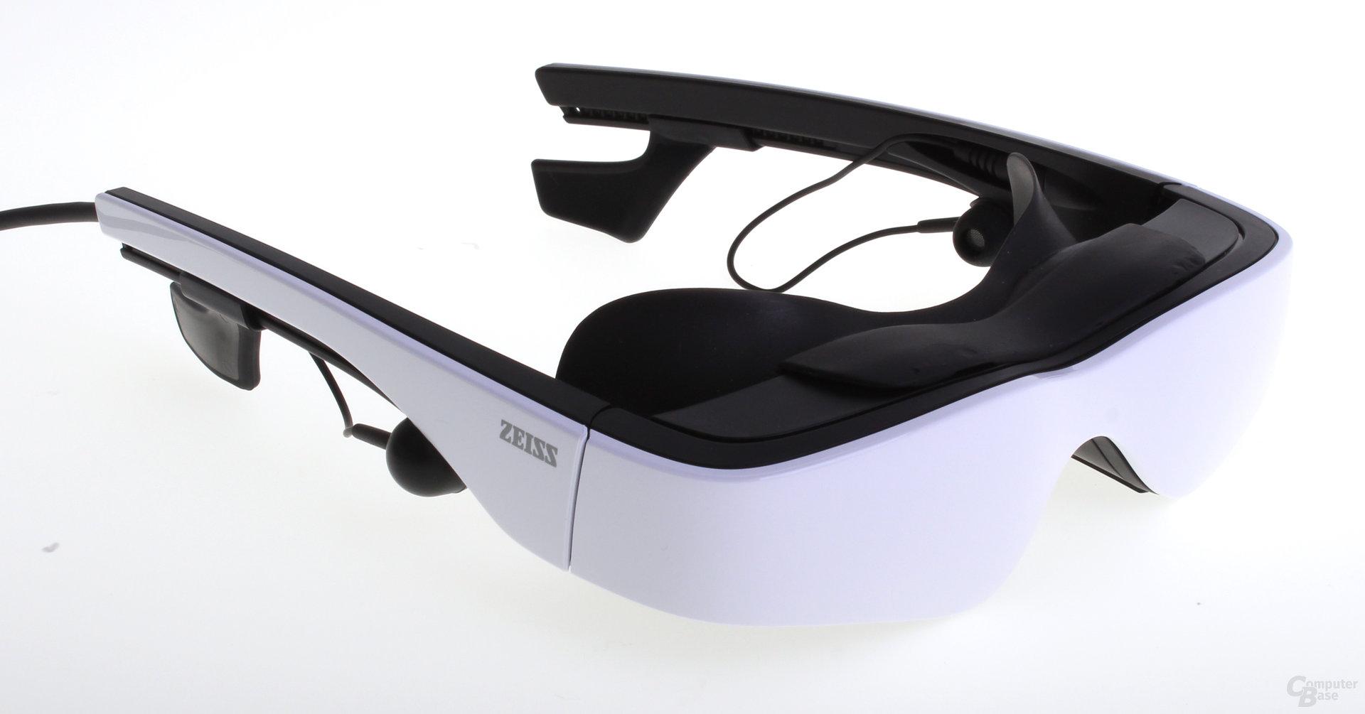 Cinemizer OLED mit Eyeshield