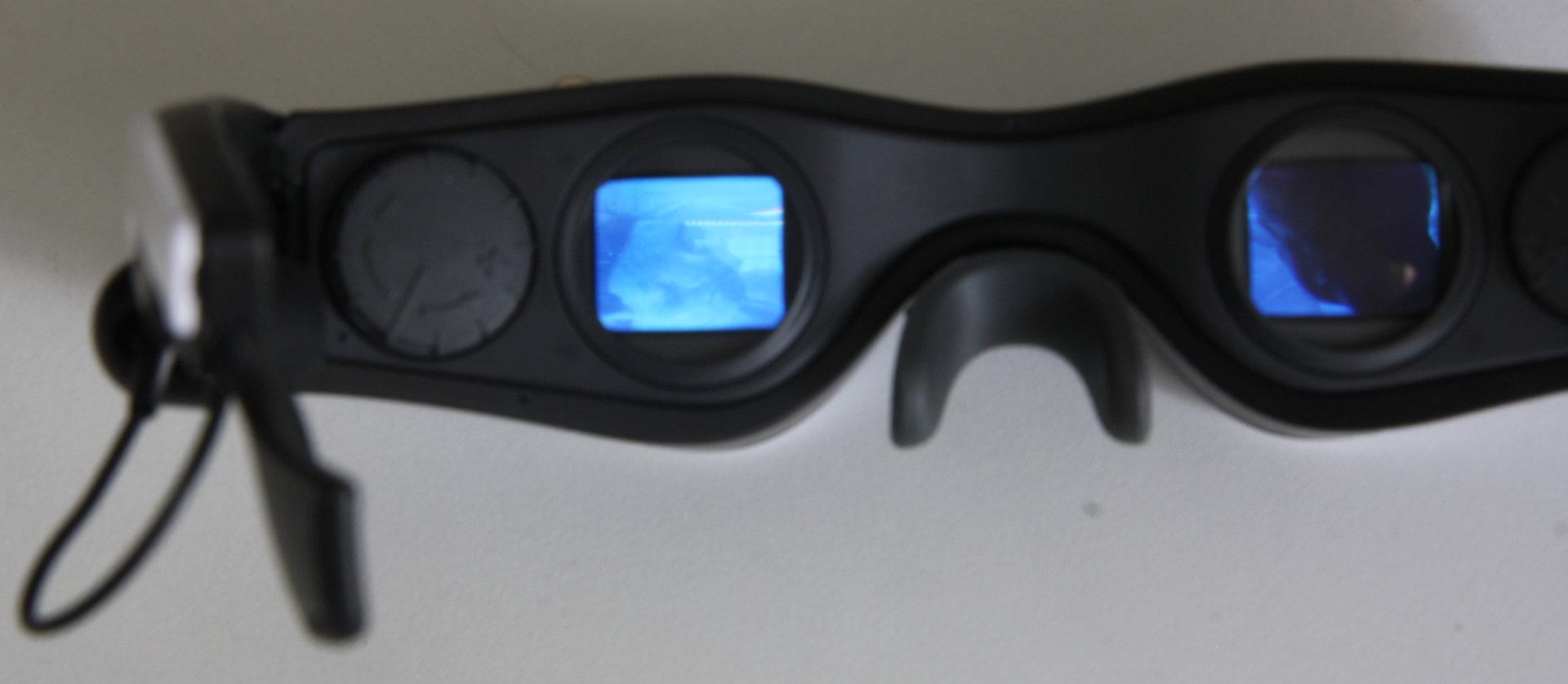 Cinemizer OLED im Betrieb