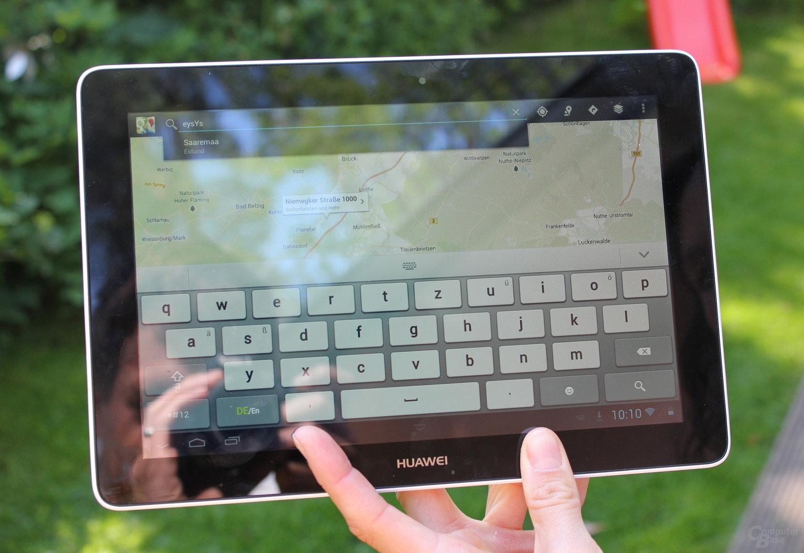Huawei MediaPad 10 Link Display