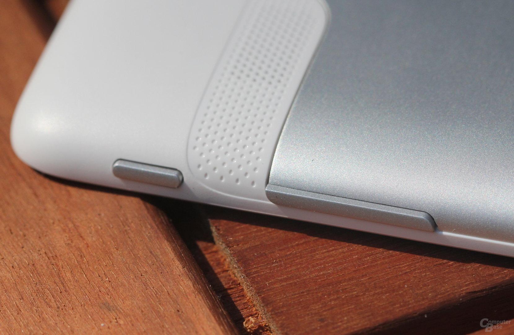 Huawei MediaPad 10 Link Tasten