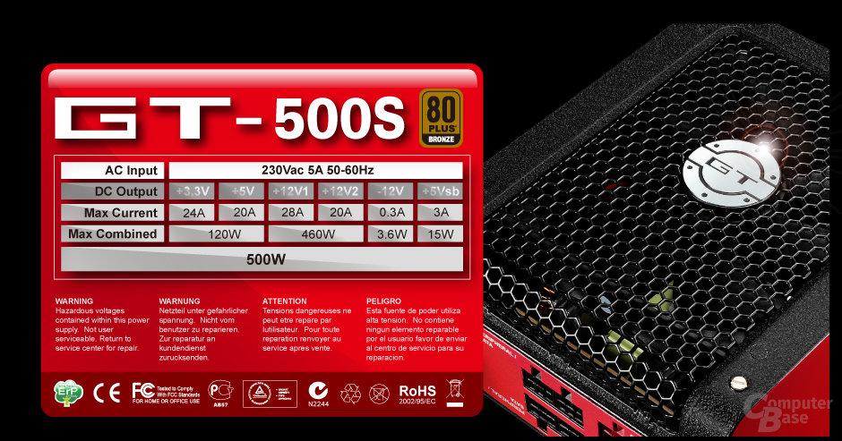Aerocool GT–S 500W
