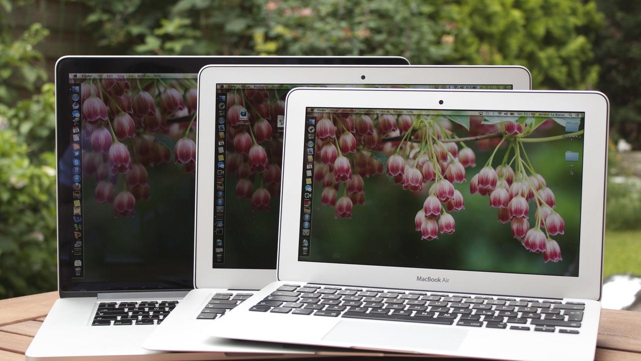 apple macbook air 2013 im test 11 und 13 zoll im direkten. Black Bedroom Furniture Sets. Home Design Ideas