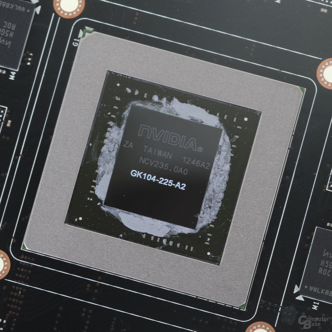 GK104-GPU der GeForce GTX 760