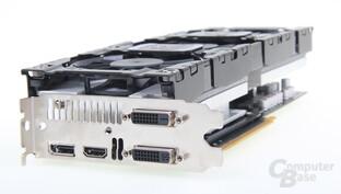 Inno3D GeForce GTX 760 iChill - Slotblende