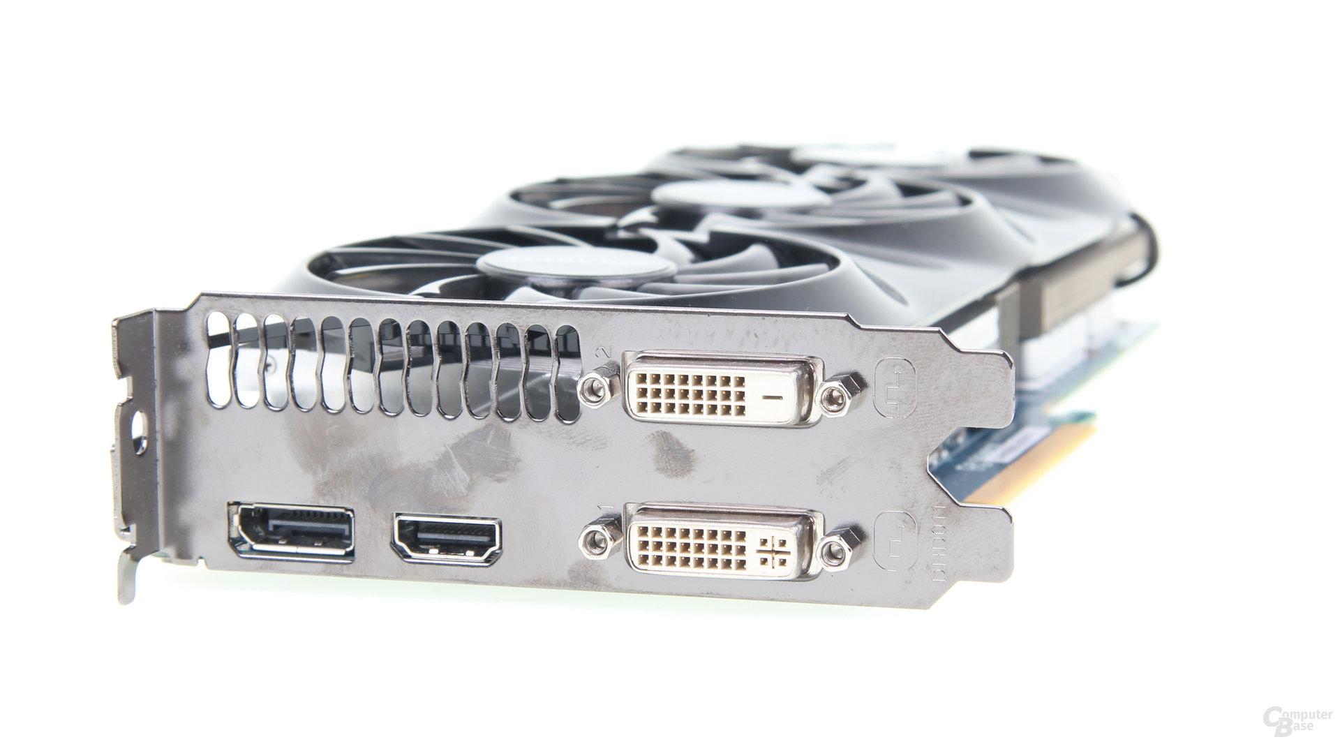 Gigabyte GeForce GTX 760 OC - Slotblende