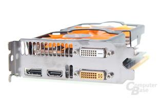 Zotac GeForce GTX 760 AMP! - Slotblende