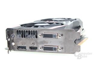 Asus Geforce GTX 760 DirectCU II OC - Slotblende