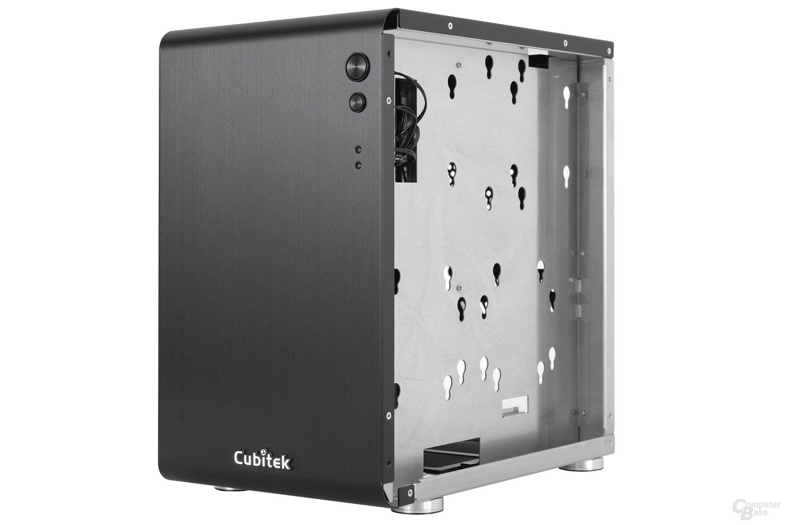Cubitek Mini Cube - Trayrückseite seitlich
