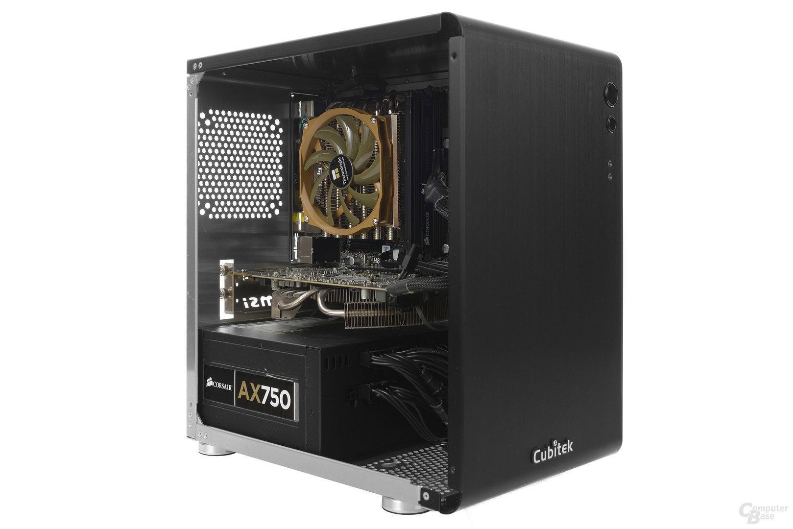Cubitek Mini Cube - Testsystem