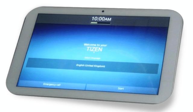 Das erste Tizen-Tablet von Systena