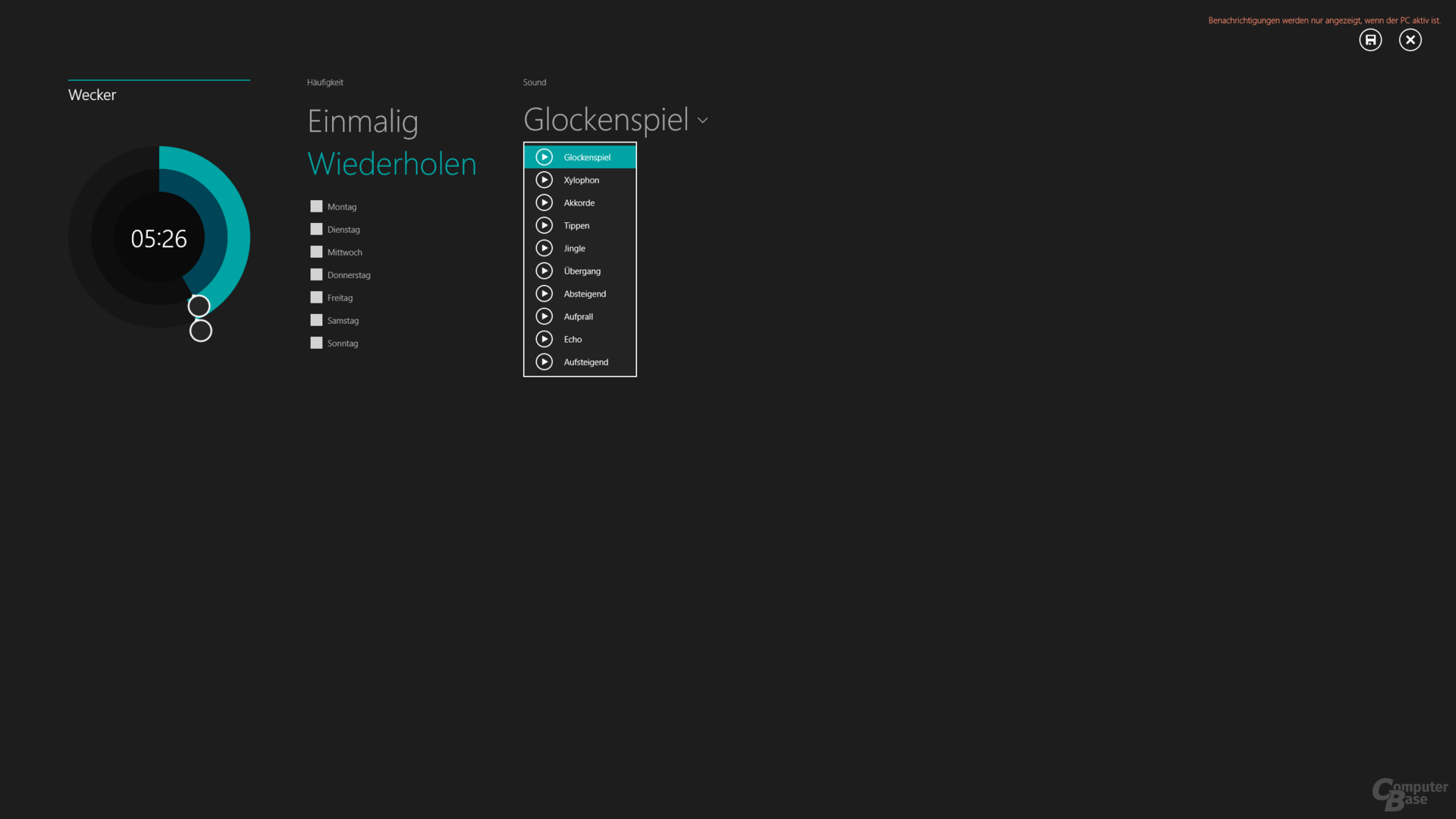 Wecker-App