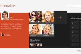 Windows 8.1 – Peoplescreen