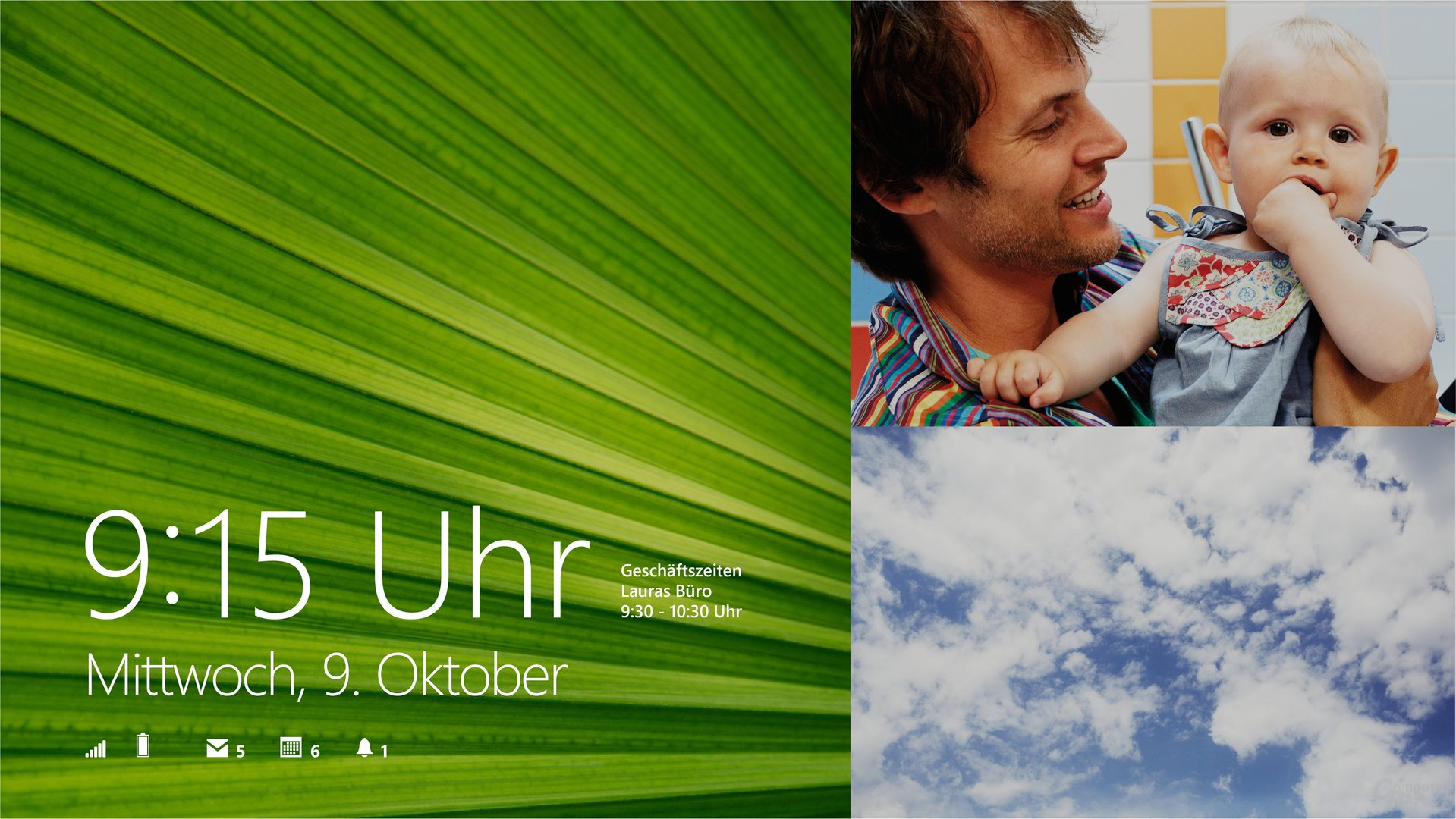 Windows 8.1 – Lockscreen