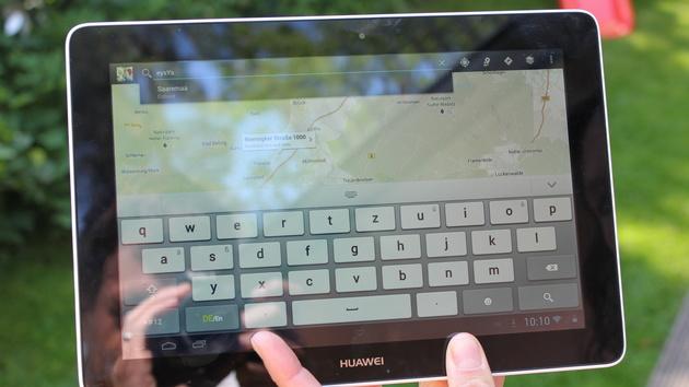 Huawei MediaPad 10 Link im Test: 10,1 Zoll mit Android für 250 Euro