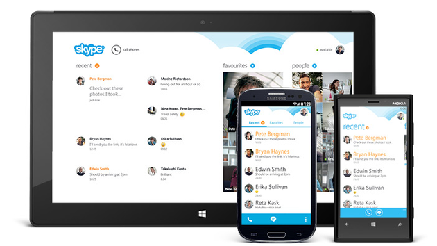 Skype 4.0 für Android (und Windows Phone 8)