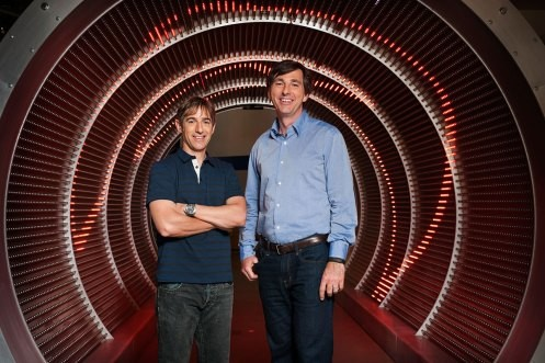 Mark Pincus mit Don Mattrick