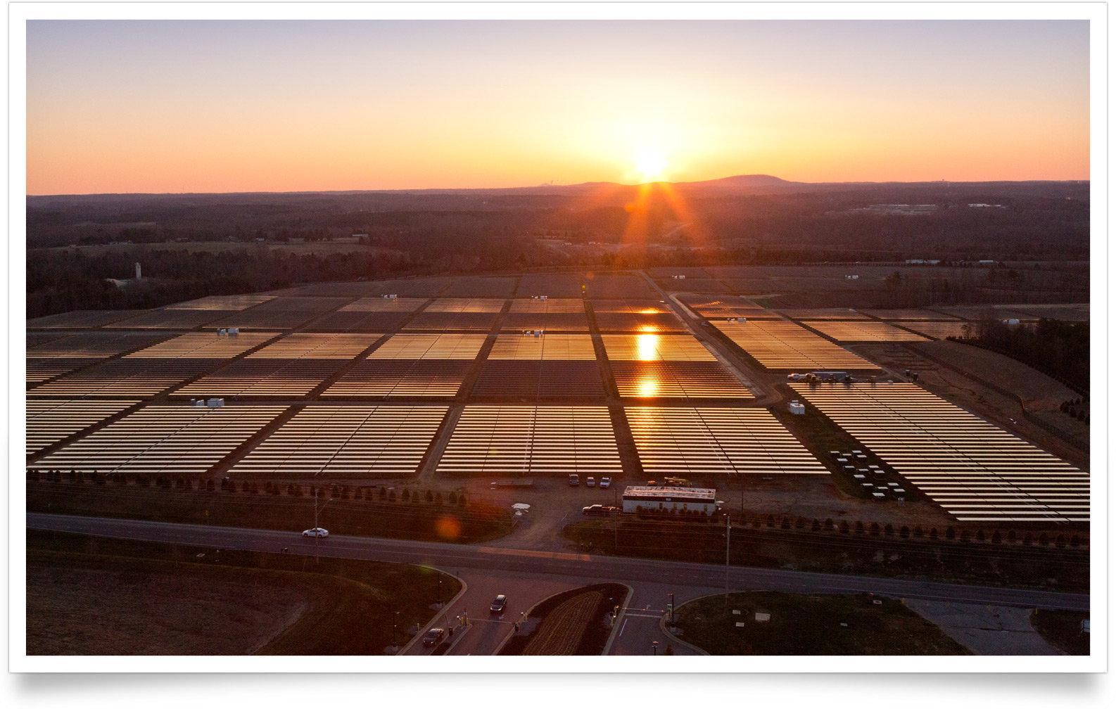 Apples Solarfarm in Maiden