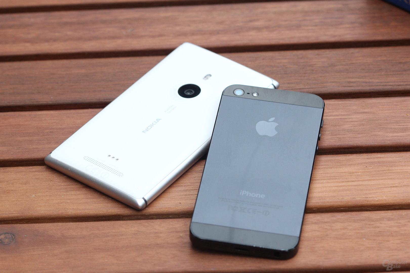 Nokia Lumia 925 vs. Apple iPhone 5