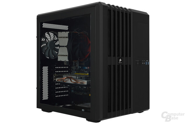 Corsair Carbide Air 540 – Testsystem seitlich