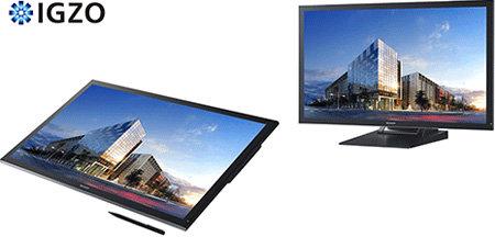 4K-Touchscreen Sharp PN-K322B