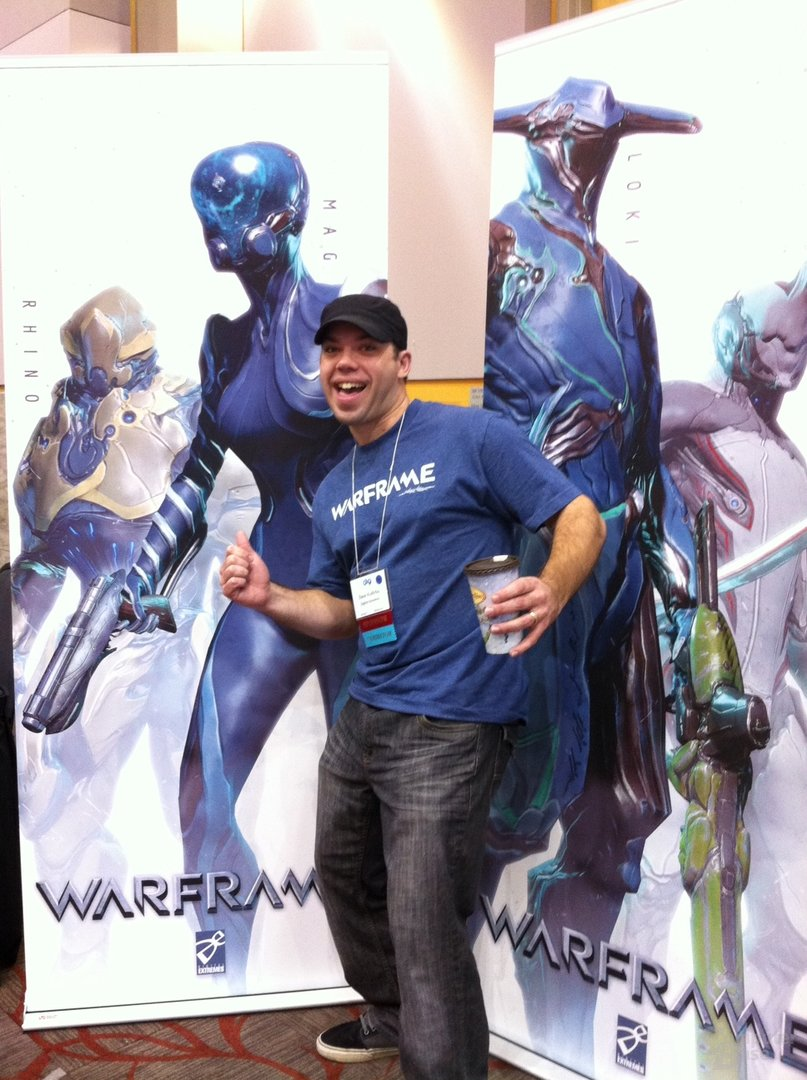 Dave Kudirka, Warframe-Producer