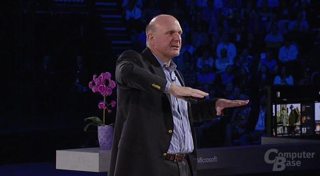 Microsoft CEO Steve Ballmer auf der WPC 2013
