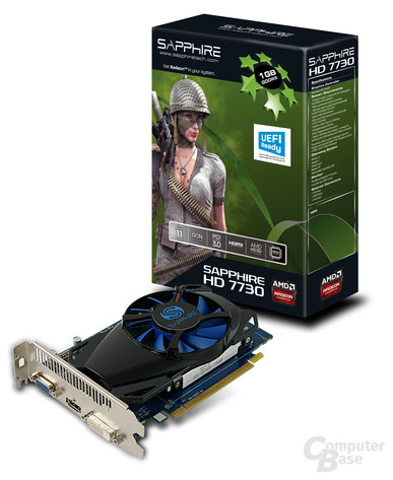 Sapphire Radeon HD 7730 GDDR5