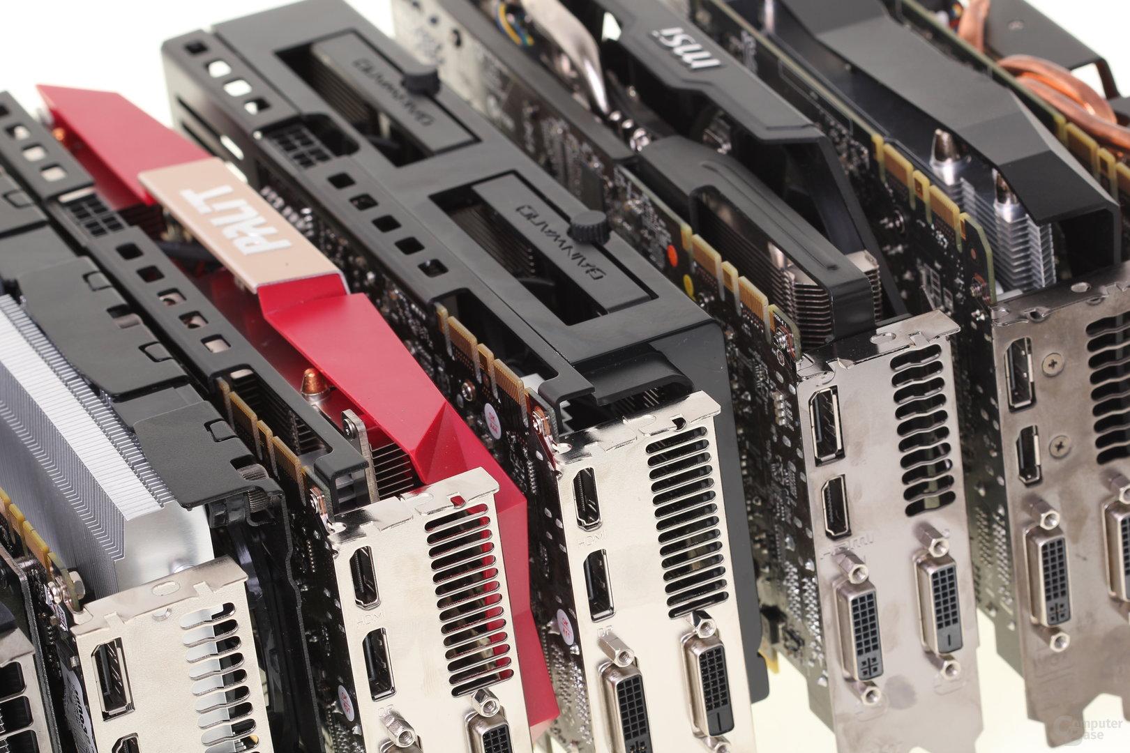 Zehn Nvidia GeForce GTX 760 im Test