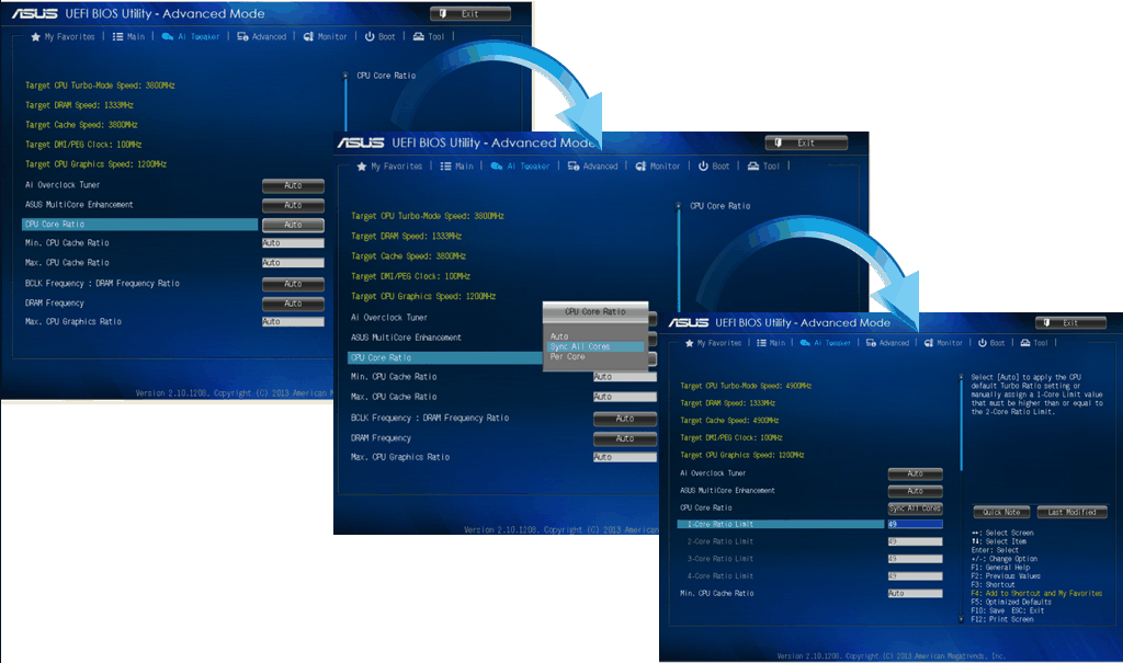 Neue BIOS-Optionen